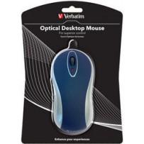 Optical Desktop Mouse (Blue)