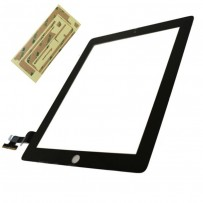 iPad 4 Replacement front glass with Digitizer (Black)