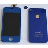 iPhone 4 Blue Upgrade Kit Complete