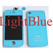 iPhone 4 Light Blue Upgrade Kit Complete