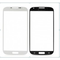 Replacement front glass for Galaxy i9500 Black