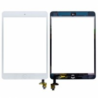iPad Mini Replacement front glass with Digitizer (White)